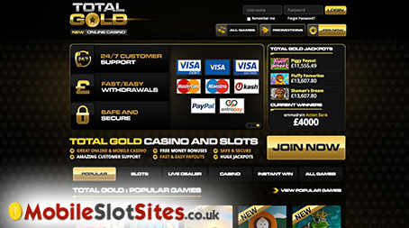 total gold casino 10 free