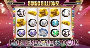 Bingo Billions slot mobile