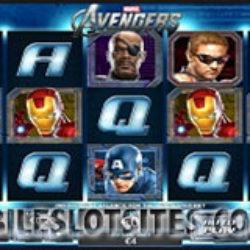 The Avengers mobile slot