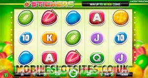 Stickers mobile slot