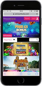 touch lucky mobile casino