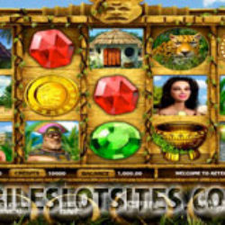 Aztec treasure slot