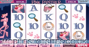 the pink panther slot