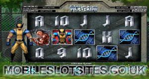 Wolverine mobile slot