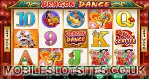 Dragon dance mobile slot