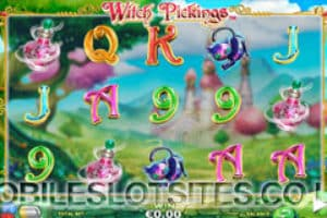 witch pickings mobile slot
