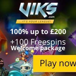 viks 100 free spins