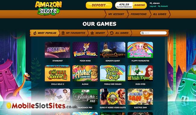 amazon slots lobby