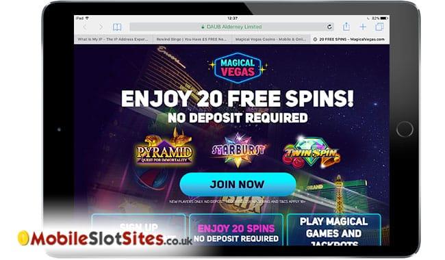 magical vegas mobile casino