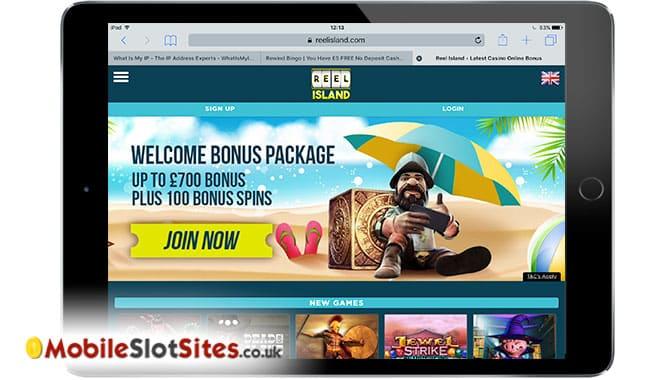 reel island mobile casino
