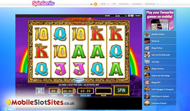 spin genie slots
