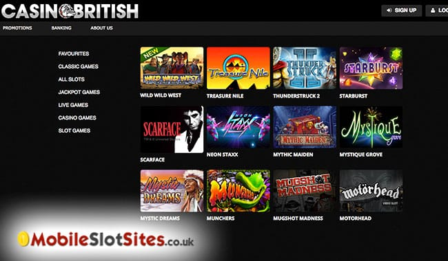 mobile slots sites