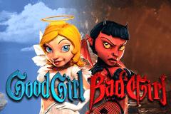 Betsoft Good Girl Bad Girl Slot Logo